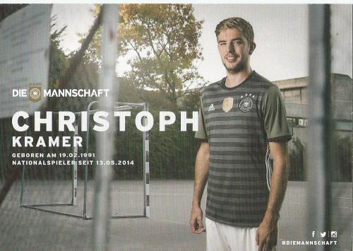 Christoph Kramer – die Mannschaft 2016 card 2