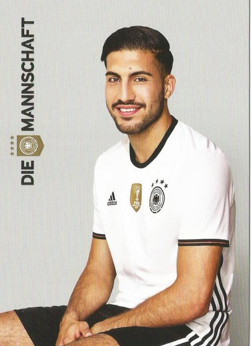 Emre Can – die Mannschaft 2016 card 1