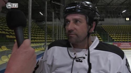 Hansi Flick - ice hockey interview 1