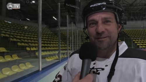 Hansi Flick - ice hockey interview 4