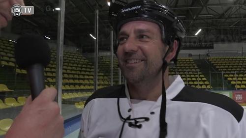 Hansi Flick - ice hockey interview 5