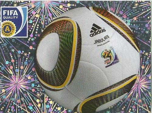 Jabulani match-ball - WM 2010 sticker