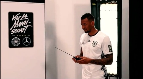 Jerome Boateng - making of Mercedes ad 2