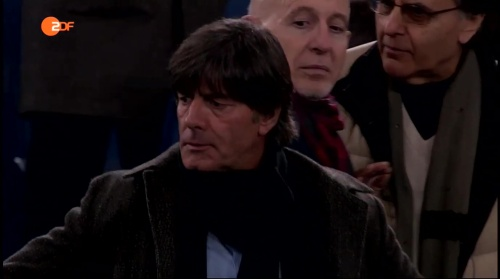 Joachim Löw at AS Roma v Real Madrid 1