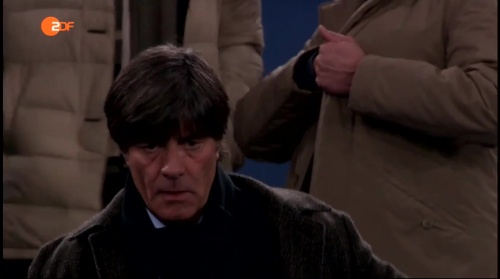 Joachim Löw at AS Roma v Real Madrid 2
