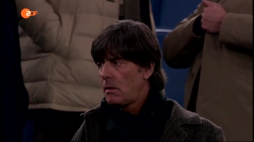 Joachim Löw at AS Roma v Real Madrid 3