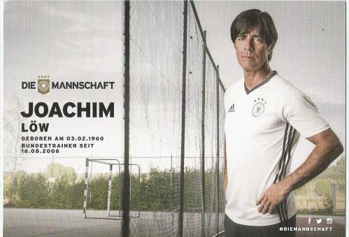Joachim Löw – die Mannschaft 2016 card 2