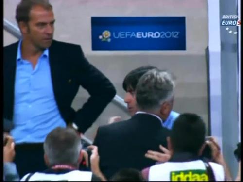 Joachim Löw & Hansi Flick – Turkey v Germany 2011 1