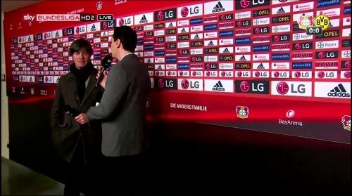 Joachim Löw - Leverkusen v Dortmund half-time interview 4