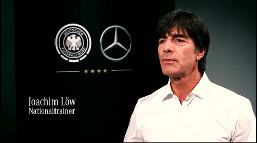 Joachim Löw - making of Mercedes ad 1