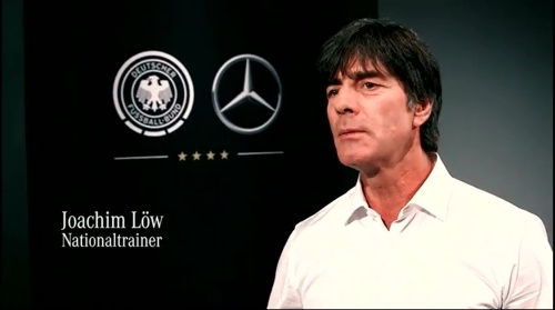Joachim Löw - making of Mercedes ad 2