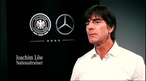 Joachim Löw - making of Mercedes ad 2