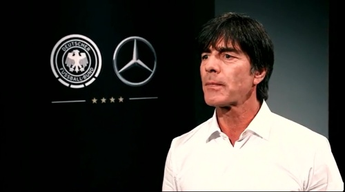 Joachim Löw - making of Mercedes ad 3