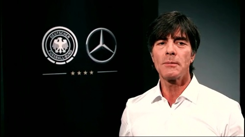 Joachim Löw - making of Mercedes ad 4