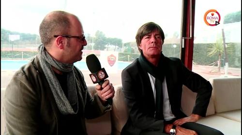 Joachim Löw - Roma TV interview 1