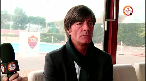 Joachim Löw - Roma TV interview 4