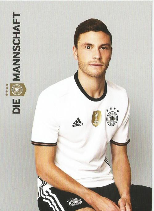 Jonas Hector – die Mannschaft 2016 card 1