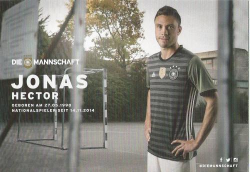 Jonas Hector – die Mannschaft 2016 card 2