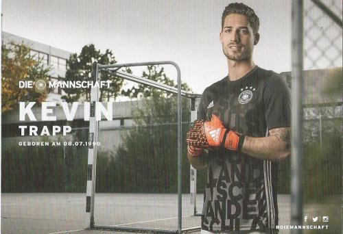 Kevin Trapp – die Mannschaft 2016 card 2
