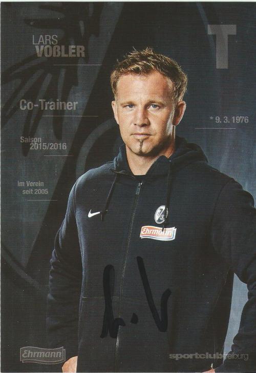 Lars Voßler - SC Freiburg 2015-16 card