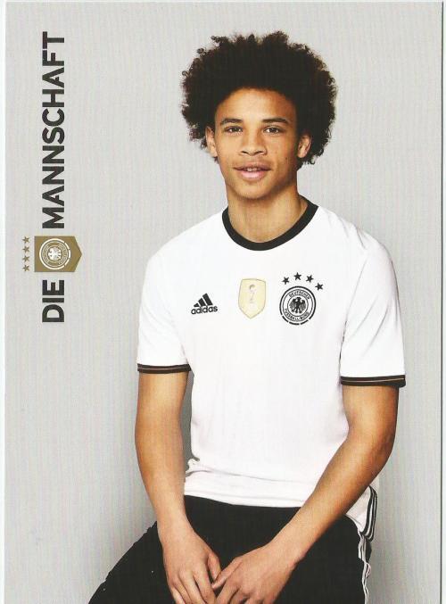 Leroy Sane – die Mannschaft 2016 card 1