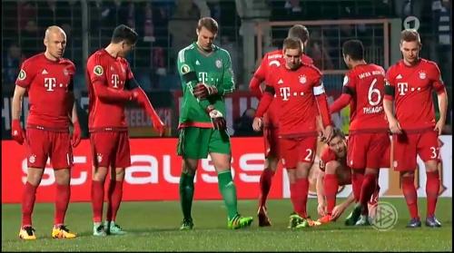 Lewandowski, Neuer & Lahm – Bochum v Bayern 1