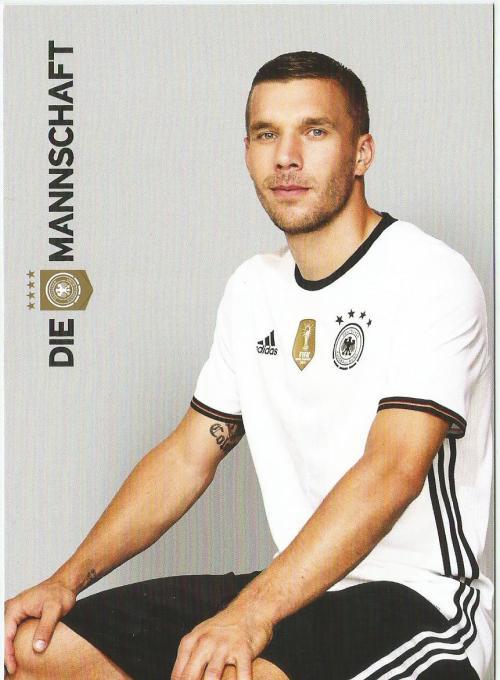 Lukas Podolski – die Mannschaft 2016 card 1