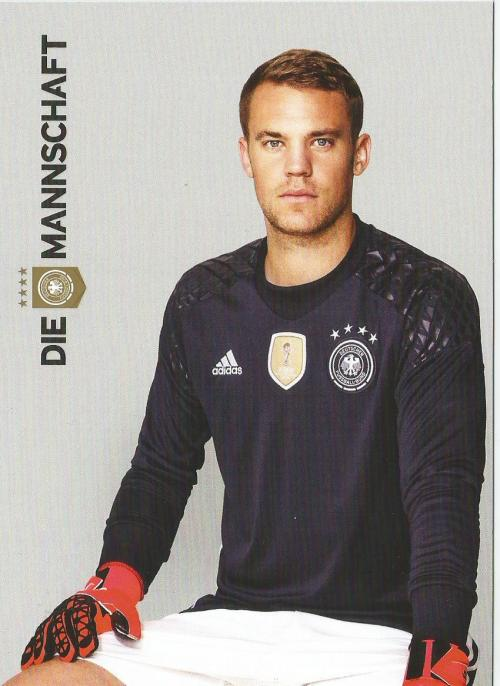 Manuel Neuer – die Mannschaft 2016 card 1