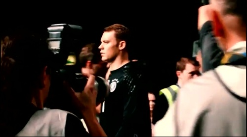 Manuel Neuer - making of Mercedes ad 2