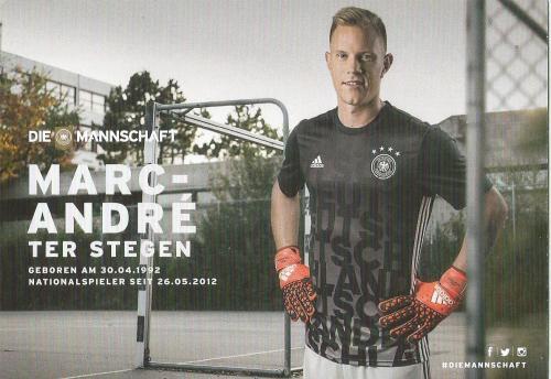 Marc-Andre ter Stegen – die Mannschaft 2016 card 2