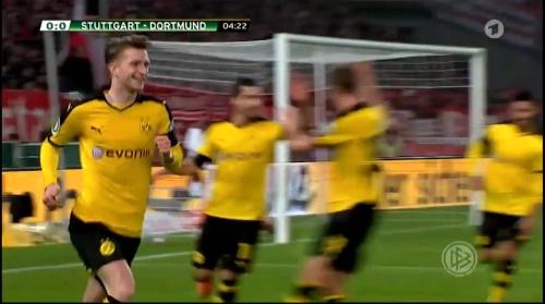 Marco Reus - Stuttgart v Dortmund - DFB Pokal 1