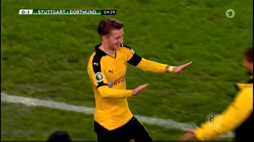 Marco Reus - Stuttgart v Dortmund - DFB Pokal 2
