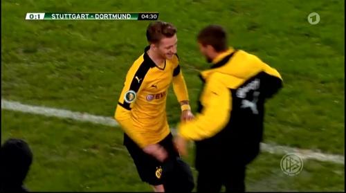 Marco Reus - Stuttgart v Dortmund - DFB Pokal 3