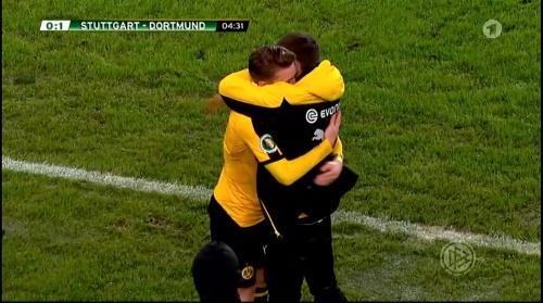 Marco Reus - Stuttgart v Dortmund - DFB Pokal 4