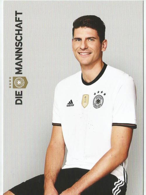 Mario Gomez – die Mannschaft 2016 card 1