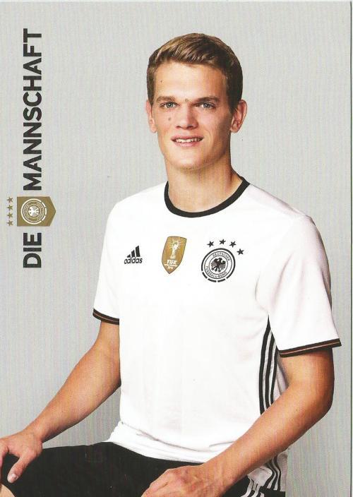 Matthias Ginter – die Mannschaft 2016 card 1