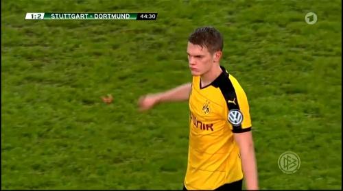 Matthias Ginter - Stuttgart v Dortmund - DFB Pokal 2