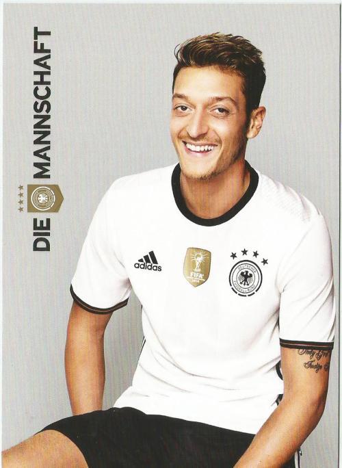 Mesut Özil – die Mannschaft 2016 card 1