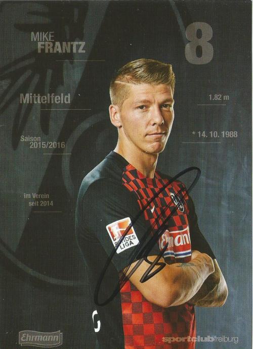 Mike Frantz - SC Freiburg 2015-16 card