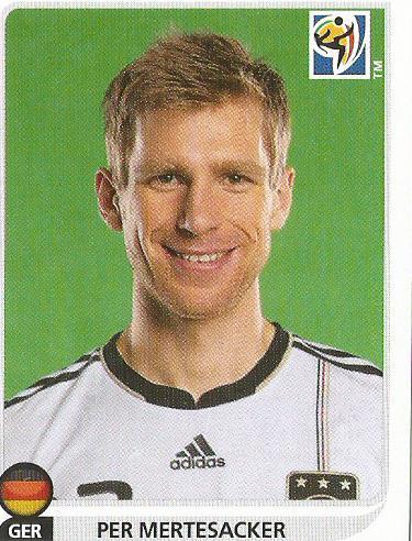 Per Mertesacker - Deutschland - WM 2010 sticker