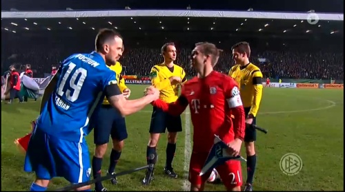 Philipp Lahm – Bochum v Bayern 3