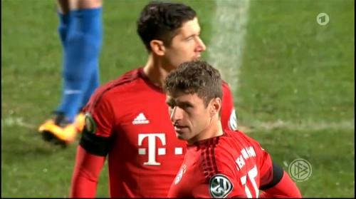Robert Lewandowski & Thomas Müller – Bochum v Bayern 1