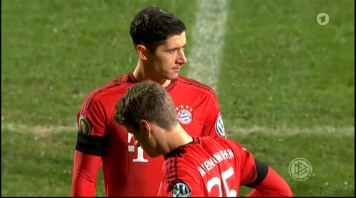 Robert Lewandowski & Thomas Müller – Bochum v Bayern 2