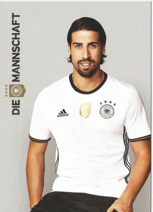 Sami Khedira – die Mannschaft 2016 card 1