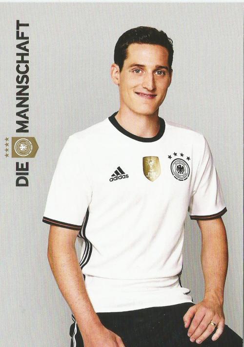 Sebastian Rudy – die Mannschaft 2016 card 1