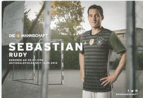 Sebastian Rudy – die Mannschaft 2016 card 2