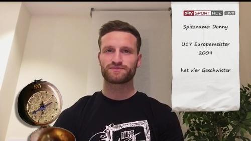 Shkodran Mustafi pre-match show interview - Valencia v Rapid Wien 5
