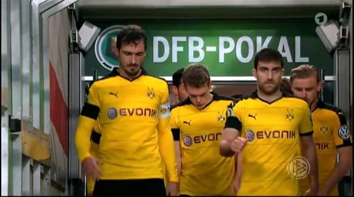 Sokratis - Stuttgart v Dortmund - DFB Pokal 2