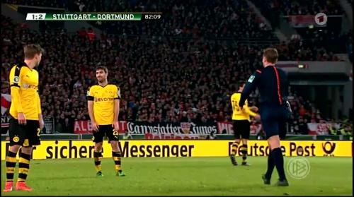 Sokratis - Stuttgart v Dortmund - DFB Pokal 3