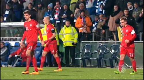 Thomas Müller & Philipp Lahm – Bochum v Bayern 1